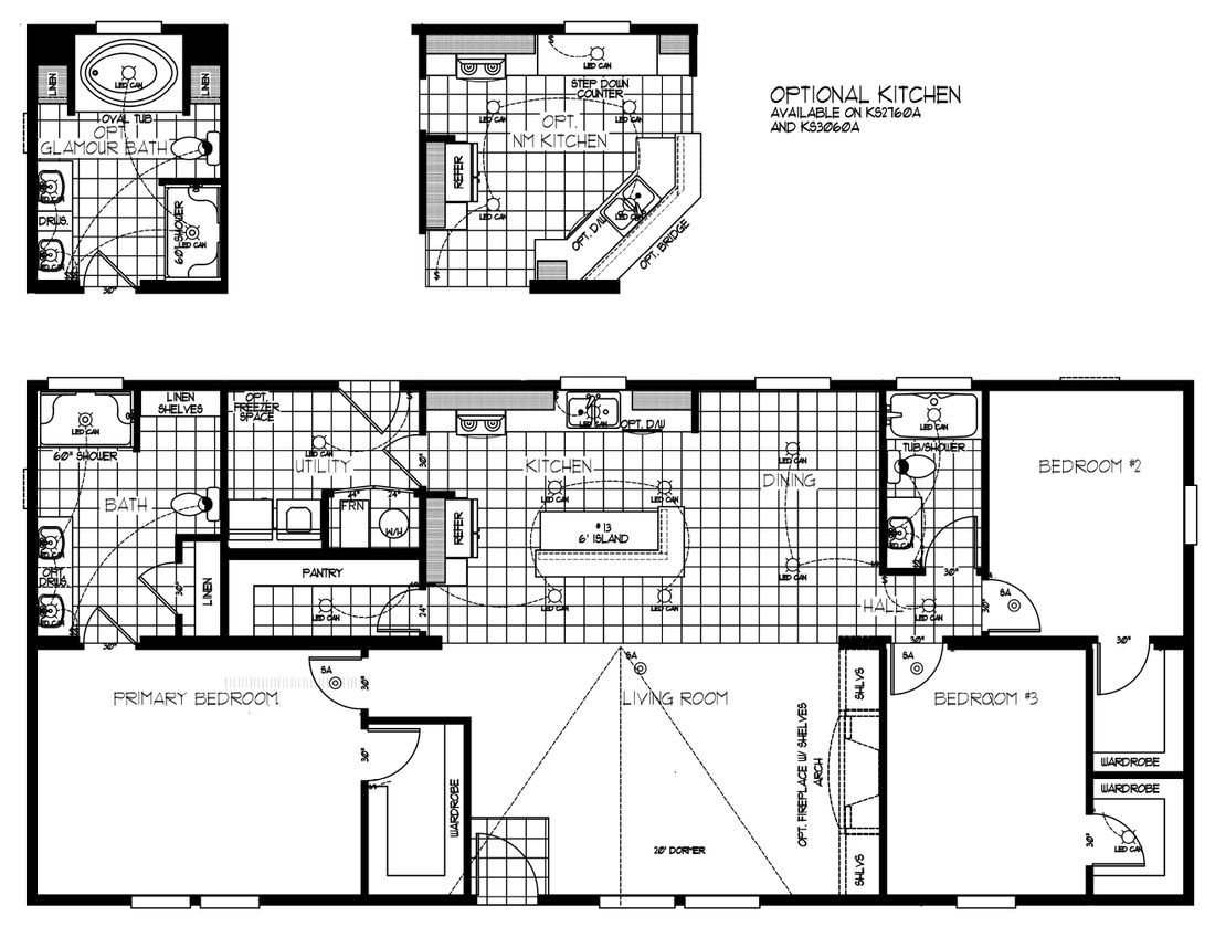 The K2760A Floor Plan
